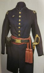 Civil War - Union Lieutenant's Uniform Frock Coat, with Accoutrements - ORIGINAL RARE - SOLD