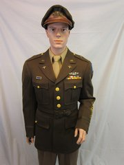 "WWII Uniform of Brigadier General Albert F. Hegenberger with Chennault's ""Flyin Tiger"" General Stars - ORIGINAL RARE -"