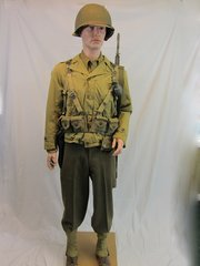 WWII D-Day Invasion US Army Field Uniform - ORIGINAL -