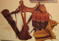 WWI - McClelan Saddle and Gear - ORIGINAL -