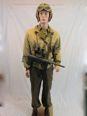 WWII U.S. Tankers Combat Uniform Grouping, -ORIGINAL RARE-