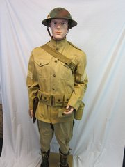 "WWI - U.S. Marines ""Devil Dog"" Combat Uniform - ORIGINAL RARE - SOLD -"