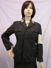 WWII German DRK SS Lebensborn Nurse Jacket, ID'd, - ORIGINAL VERY RARE -