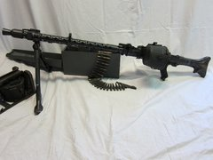 WWII German MG 34 Machine Gun, Demilled, Non-Firing - ORIGINAL VERY RARE -