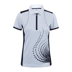 Daily Sports Ladies Spin Cap Sleeve Polo Shirt - 843-147