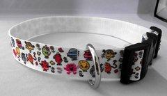 Handmade Mr Men & Little Misses Dog Collar