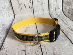 Cornish National Handmade Dog Collar Plaid