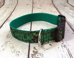 Hulk Handmade Dog Collar