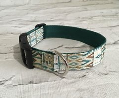 Dream Catcher Design Handmade Dog Collar