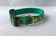 Christmas Bells Handmade Dog Collar