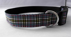 Thomson Tartan Dog Collar Handmade Plaid