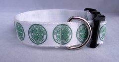 Celtic FC Handmade Dog Collar
