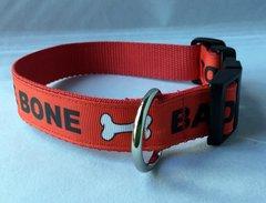 Bad To The Bone Handmade Dog Collar
