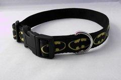 Handmade Batman Dog Collar