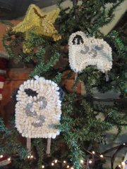 Ewe Two Ornament Kit