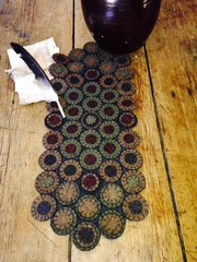 Country Road Penny Rug Kit