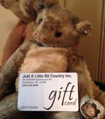 $25.00 Gift Card for Someone You Love!