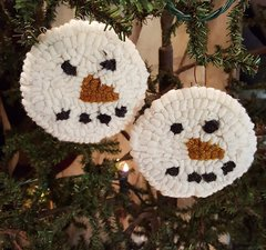 Snow Ball Ornaments