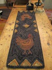 Chicken Traks Runner Pattern