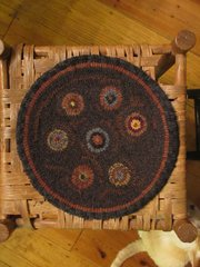 Penny Rug Chair Pad Pattern