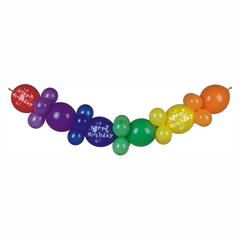 """Balloon garland 2 m """"Happy Birthday""""30 PIECES"""
