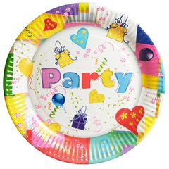 "Plate, round Ø 23 cm ""Party Mix"