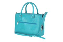 Blue Turquoise Drink Purse