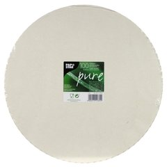 """Cake holders, cardboard """"pure"""" round Ø 30 cm white with jagged edge (100 pieces)"""