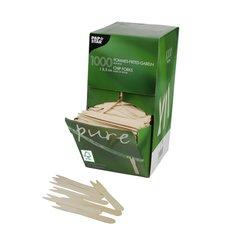 """French fries forks, wood """"pure"""" 8,5 cm FSC (1000 pcs)"""