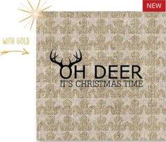 X-mas Oh Deer Gold