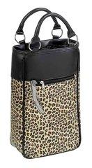 Leopard Safari 2 Bottle Wine bag