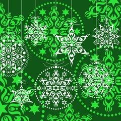 X-mas Decorations green