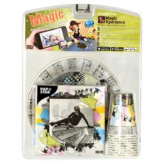 "Party set ""Magic Xperience"" ""Skater Boy"" plates, cups + napkins"