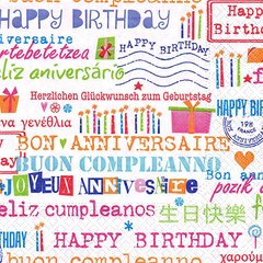 Birthday allover