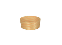 """Fingerfood - Bowls, wood """"pure"""" round Ø 5 cm · 2 cm (50 pieces)"""