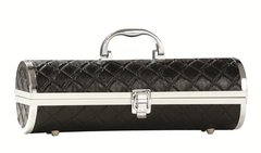 BLACK QUILTED SASSY