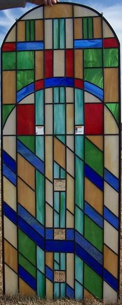 Round top window panel