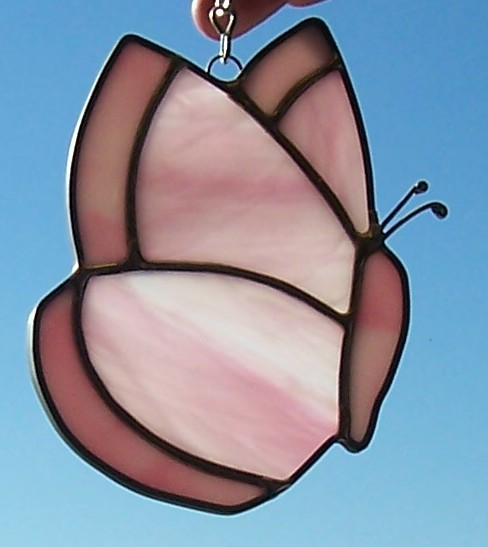 Butterfly-pink, small