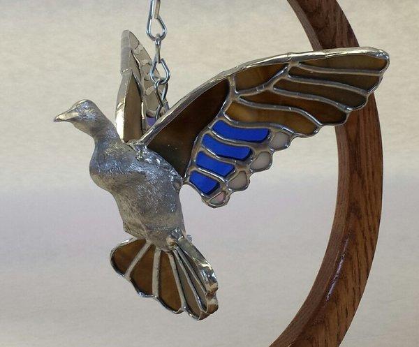 3D flying duck