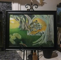 Enchanted Forest Demo w/ Black Frame