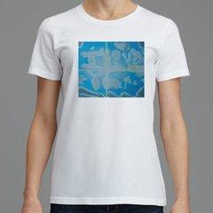 Written in Clouds Print Women's Soft Cotton T-Shirt