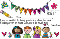 Back To School Welcome Certificate