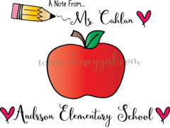 Apple Teacher Card