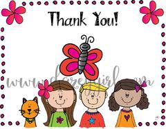 Thank You! Kalika Card