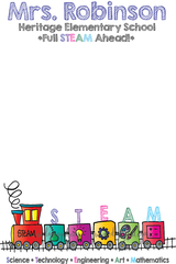 8.5x5.5 STEAM Notepad