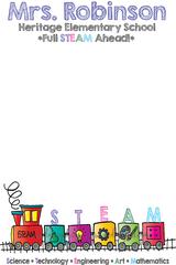 8.5x5.5 STEAM Notepad