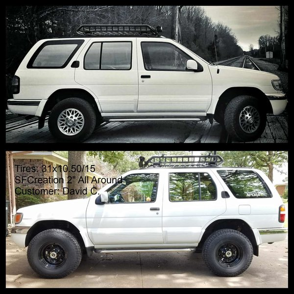 Nissan Pathfinder Lift Kit | Lift Kit And Skidplates For ...