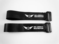 Mid-America Multirotor Rubberized Battery Straps (2)