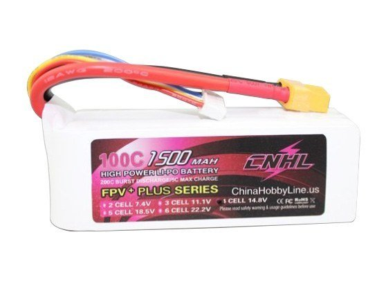 CNHL 1500mah 100c 4S G+ Plus Li-Po Battery