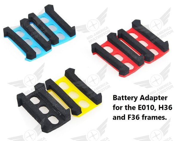 Eachine E010 or JJRC H36 Frame Battery Adapter